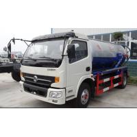 DONGFENG 6m3 (6000L) Suction Sewage Truck/4x2 140hp Cummins engine