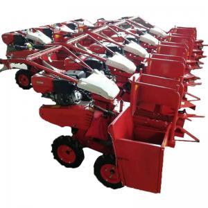 Agriculture Machinery Mini Corn Combine Harvester Diesel Singel Row