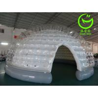 2016 hot sell  inflatable clear bubble tent for commercial use with 24months warranty