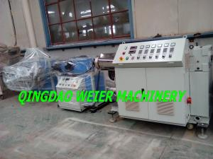 China Plastic Extruder Machine For PE PVC Corrugated Pipe / Tubes make, SJ-65/30 on sale