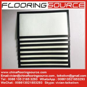 China Bar Runners Bar Mats nitrile rubber base white polyester felt printable top for Dye Sublimation Heat Transfer on sale