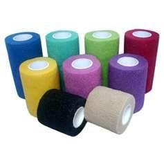 China Custom breathable hand tear non - woven cohesive elastic bandage for pet wrapping on sale