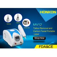 Q Switched Nd YAG Laser Portable Tattoo Removal Freckle Removal Beauty Machines