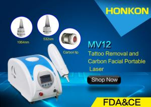 China Tattoo And Pigmentations Removal Q Switch Nd Yag Laser Machine 1064 Nm 532nm Wavelength on sale
