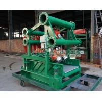 China Horizontal directional drilling Mud Cleaner desander desilter for piling project,TBM on sale