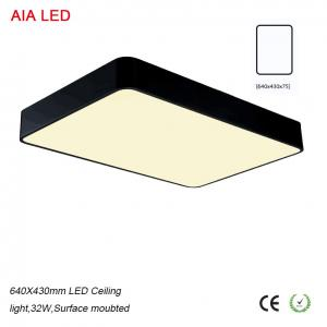 China Square inside IP40 modern competitive price LED Ceiling lighting for clothing store on sale