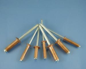 China Full SS / Copper Blind Rivets Tools 2.4mm With Painted on sale