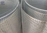 Round Hole Perforated Metal Sheet Punching Mesh Stainless Steel