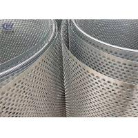 China Round Hole Perforated Metal Sheet Punching Mesh Stainless Steel on sale