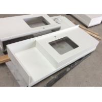 Pure White Kitchen Quartz Stone Countertops And Bathroom Vanity Tops Tampa