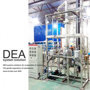 China 220V 60HZ Fractional Distillation Column Different Boiling Points 1000*800*3400mm on sale