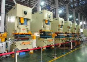 China JH21 Mechanical Automatic Power Press Machine 200 Ton With C Type Frame Fixed Table on sale