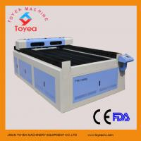 1.5mm thick stainless steel Laser Cutting machine 4 x 8 working table,stepper motor ,belt driving  TYE-1325