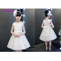 936c9779d9a China Embroidery Ivory Lace Flower Girl Dresses   Short Casual Simple Flower  Girl Dresses on sale .