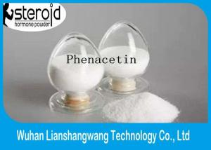 China Pain Killer Drug Pharmaceutical Raw Materials Phenacetin Fenacetina CAS 62-44-2 on sale