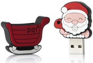 China santa claus usb flash drive 1gb to 32gb, various styles, christmas cartoon usb pen drive memory on sale