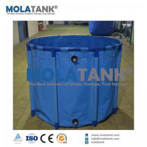 China Molatank Economic Collapsible PVC Aquarium Fish Farming Tank for Marine Saltwater or Fresh Water on sale