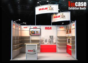Exhibition Booth Materials : Modular and portable aluminium materials 10x20 trade show booth for