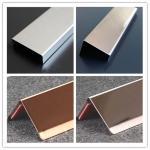отделка канала нержавеющей стали, отделка угла, отделка формы (у, дж, з, л, т), декоративная отделка