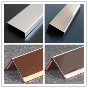 China stainless steel channel trim, angle trim,shape( U, J, Z,L,T) trim, decorative trim on sale