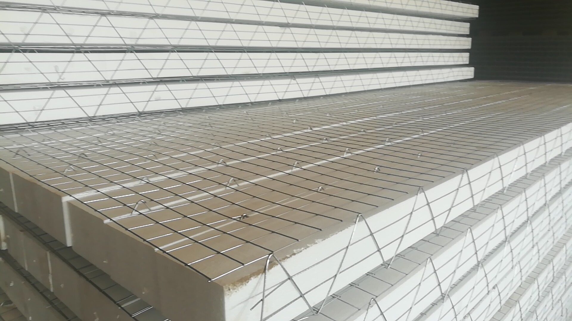 3D Sandwich Panel with foam50*50. for sale – EPS MESH PANEL ...