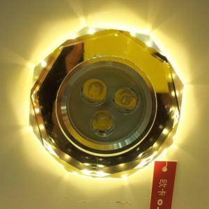 China clear glass recessed downlight led light source octagonal shape warm white on sale
