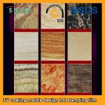 PVC Wall Panels PET Heat Transfer Film With Wood Grain Or Marble Printed