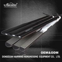 China LED 450 Fahrenheit Electric Flat iron pro hair straightener PTC heating element on sale