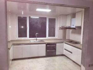 China High glossy lacquer kitchen cabinet,Project kitchen cabinet,MDF kitchen cabinet on sale