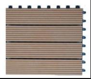 China WPC DIY Tiles on sale