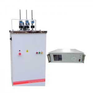 China Water Cooling Plastic Testing Machine , Determination Of Heat Deflection Temperature Vicat Softening Point Apparatus on sale