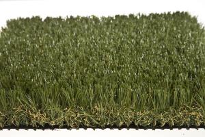 China Plastic Garden Landscaping Artificial Grass Field And Olive Green on sale
