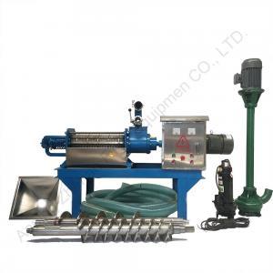 China Johnson screen filter solid liquid separator for manure fertilizer separator on sale