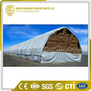 China Polyester Tarpaulin Cover Hay Cover on sale