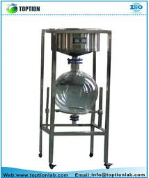 China lab filtration system Vacuum Stainless Steel Filter 50L glass filter price with ISO certificate on sale