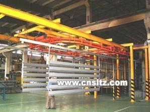 China Power & Free  Conveyor Coating Line for Aluminium on sale