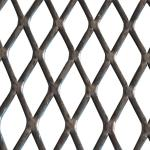 XS-83 Fluorocarbon Expanded Wire Mesh Carbon Steel Material For Prison Fence