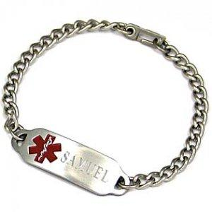 China Medical identification bracelet on sale