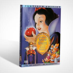 China Wholesale Snow White and the Seven Dwarfs DVD Classic Movie Cartoon Disney DVD Distributor on sale