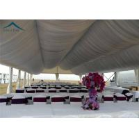 Arabic Large Wedding Tents  For Outdoor Party  Roof Linings And Curtains