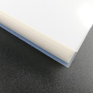 China Quick Drying Milky White Inkjet Pet Transparent Film Waterproof For Screen Printing Industry on sale
