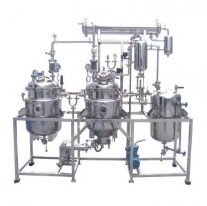China Mini Oil Walnut Oil Herbal Extraction Equipment Pharmaceutical Medical Processing on sale