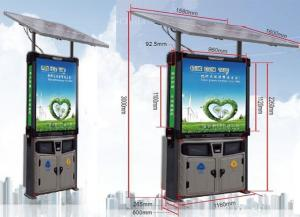 China P3mm Creative LED Display Solar LED Advertisement Screen Environmental Sanitation Container on sale