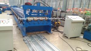 China Petit pain en acier de goujon de panneau de plate-forme de plancher formant la machine 8m - 12m/capacité minimum on sale