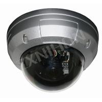 Sony / Sharp CCD Waterproof IR Vandalproof Dome Camera With 4 - 9mm Electronic Zoom Lens