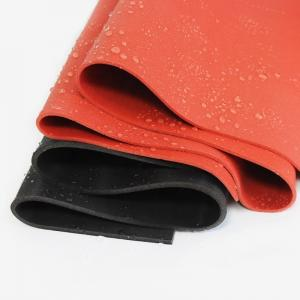 China High Temperature Customized Silicone Rubber Sheet Close Cell 10 - 40 Shore A Hardness on sale
