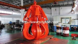 China Electric hydraulic scrap grab supplier