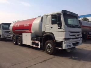 China High Capacity LPG Gas Tanker Truck Howo 20000L 10 Ton Customized Color on sale