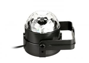 China Rotating Disco Ball Light Tanbaby Sound Activated 3W RGB For Christmas Home on sale