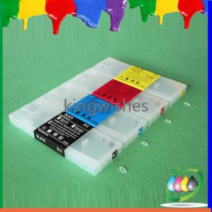 China refillable ink cartridge for Epson B308 B508 4 color inkjet printer refillable cartridge on sale